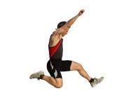 Long saut images stock