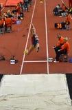 Long saut Women-2 Image stock