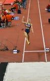 Long saut Women-3 Image stock