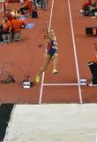 Long saut Women-4 Photo libre de droits