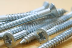 Long screws Stock Photography