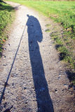 Long shadow Royalty Free Stock Photo