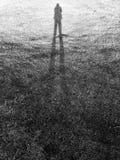 Long shadow Royalty Free Stock Image