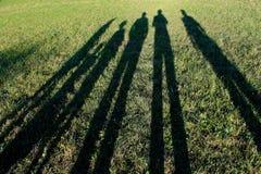 Free Long Shadows Of Family Stock Photo - 36077810