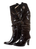 Long shine boot for women Stock Photography