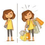 It`s Shopping Day royalty free stock image