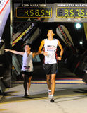 The long and short of the Adidas Sundown Marathon Stock Photography