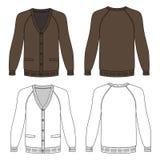 Long sleeve cardigan Stock Image