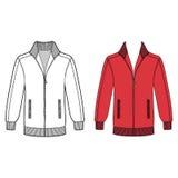 Long sleeve jacket Stock Image