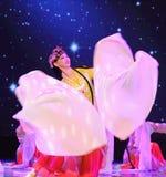Long sleeves -Beijing Opera royalty free stock photo