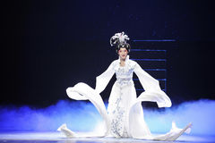 Long sleeves-Jiangxi Opera stock photos