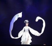 Long sleeves-Jiangxi OperaBlue coat Stock Image