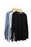Long sleeves shirts Stock Images