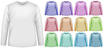 Long sleeves shirts Royalty Free Stock Photo