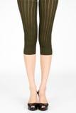 Long slim female legs Stock Images