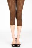 Long slim female legs Stock Photos