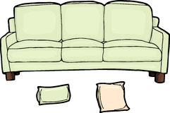 Long Sofa Royalty Free Stock Photos