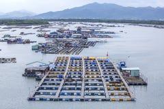Long Son floating fishing village Stock Image