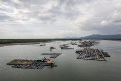 Long Son floating fishing village Royalty Free Stock Photos