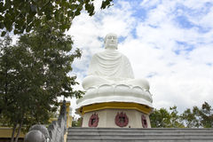 Large Buddha(Long Son Pagoda), landmark on Nha Trang, Vietnam Stock Photos