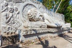 Long Son Pagoda, Nha Trang royalty free stock image