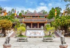 Long Son pagoda Nha Trang Vietnam. Long Son pagoda in Nha Trang, Vietnam stock photo