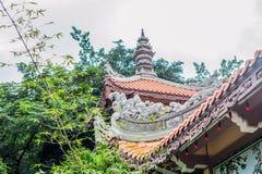 Long Son pagoda in Nha Trang, Vietnam. Asia Travel concept. Journey through Vietnam Concept stock photo