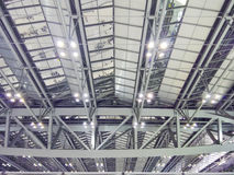Long- span roof structure Stock Photography