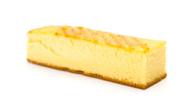 Long sponge cake Stock Photo