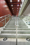 Long stair. In a train station in hong kong Stock Image