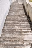 Long stairs with many steps Stock Image