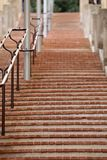 Long Stairs With Too Many Steps In Monte-Carlo royalty free stock images