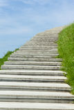 Long stairway to heaven Stock Photo