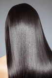 Long straight hair Stock Images