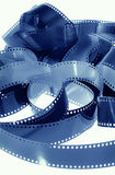 Long strip of 35mm film Royalty Free Stock Image