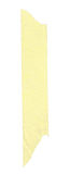 Long stripe of yellow paper tape Royalty Free Stock Photography