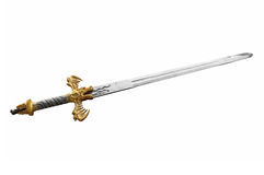 Two handed sword Stock Images