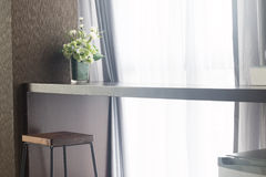 Long table Stock Photo