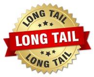 Long tail badge Stock Photo