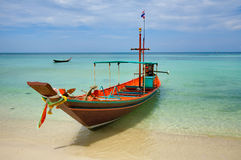 A Long Tail Boat Royalty Free Stock Images