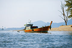 Long Tail Boat Stock Image