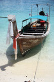 Long tail boat in Asia Royalty Free Stock Photography