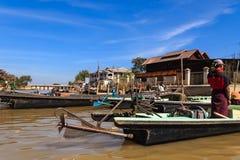 Long Tail Boat ,  inle lake in Myanmar (Burmar) Stock Images