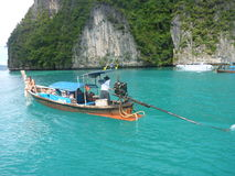 Long-tail boat Royalty Free Stock Images