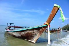 Long tail boat in krabi,thailand Stock Photo