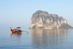 Long tail boat at Pak Meng Stock Photography
