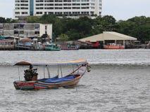 Long tail boat. On River,Bangkok Thailand Stock Photo