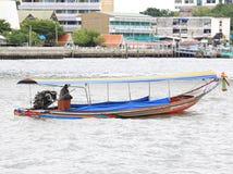 Long tail boat. On River,Bangkok Thailand Stock Photos