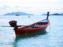 Long tail boat Royalty Free Stock Photo