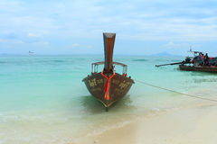 Long tail boat Royalty Free Stock Photography